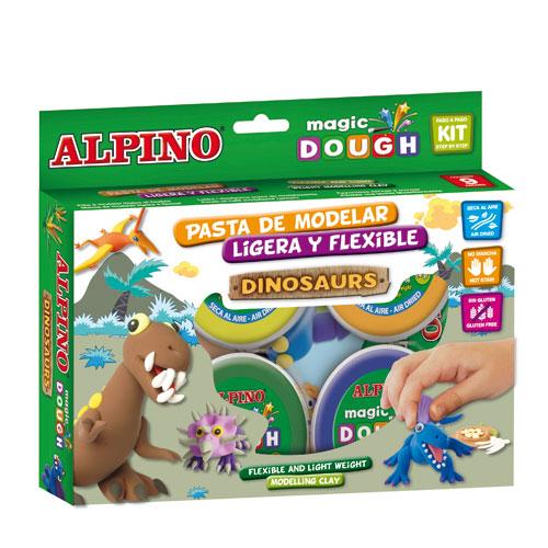 Kit Magic Dough dinasauris 6x40 gr