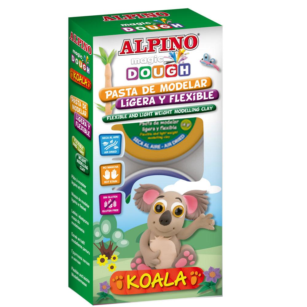 Kit Magic Dough Coala 4x40 gr