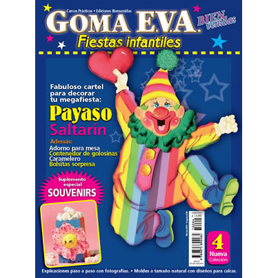 Revista Goma Eva Fiestas Infantiles 4