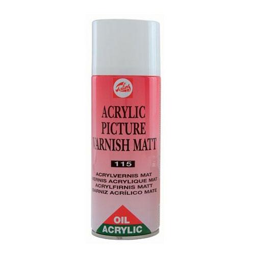 Barniz mate para Oleo y Acrilico spray 400 ml