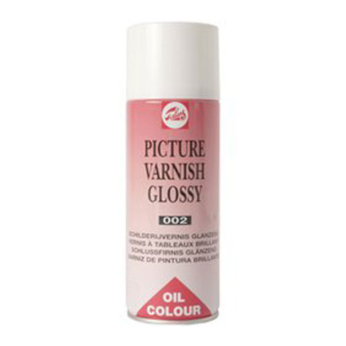 Vernis brillant per Oli i Acrilic spray 400 ml