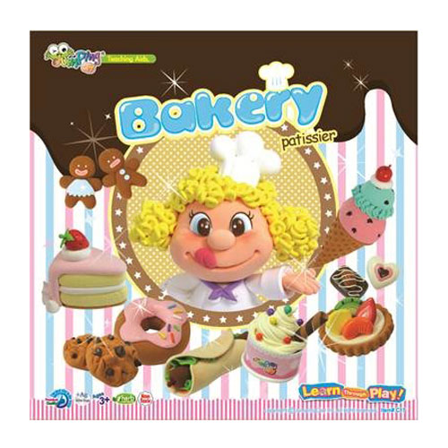 Kit jumping clay 6 colors. Bakery