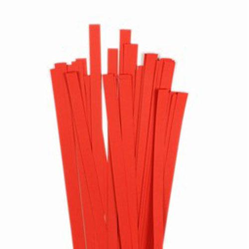 60 tiras papel quilling 45 cm x 10 mm. 120 gr