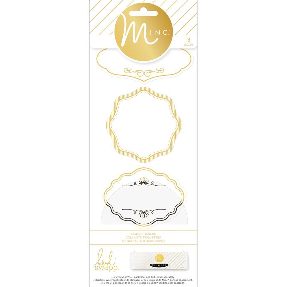 Sticker Minc Etiquetes 8 pces