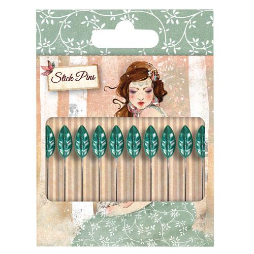 10 Stick Pins. Santoro Willow