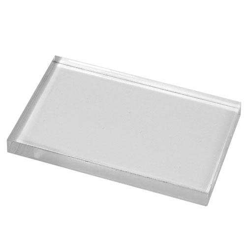 Base acrílica para sellos de silicona 12,5x17,2 cm