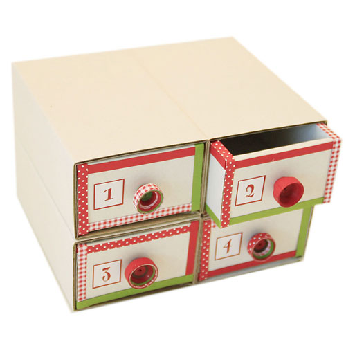 4 boxes cardboard 11,9x7,3 cm
