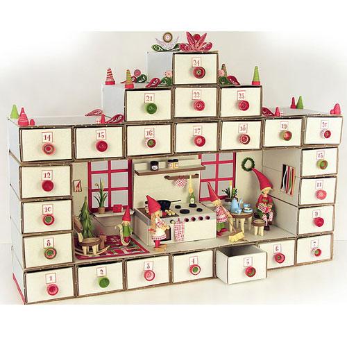 4 cajas cartón automontable 11,9x7,3 cm