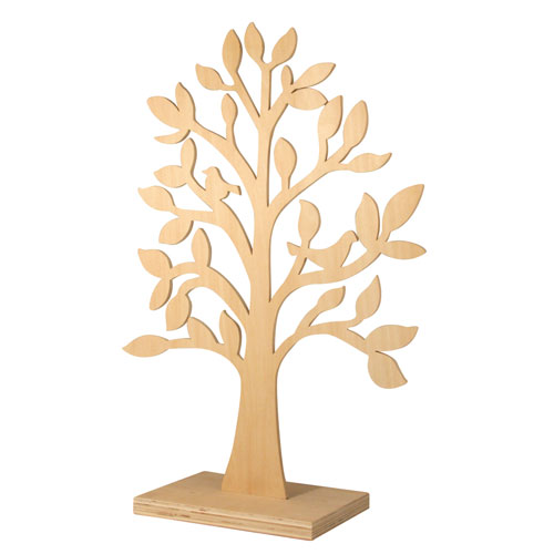 Arbol madera 50 cm
