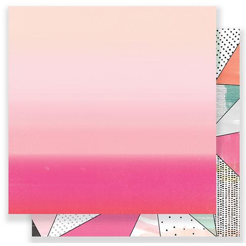 Papel doble cara 30,5 x 30,5 cm. Blush