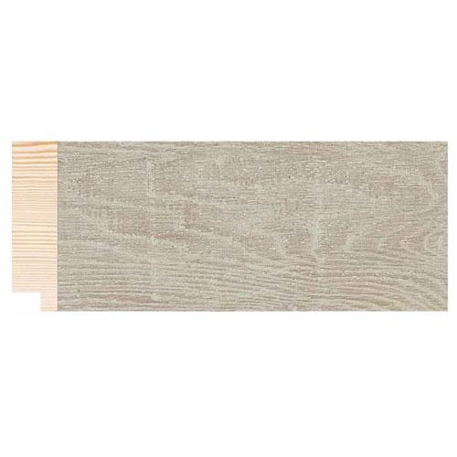 Metro lineal moldura madera decapé beig 7 cm. Ref. 1825/5