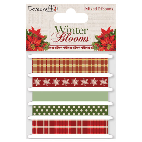 Surtido 5 cintas x 1 m. Winter Blooms