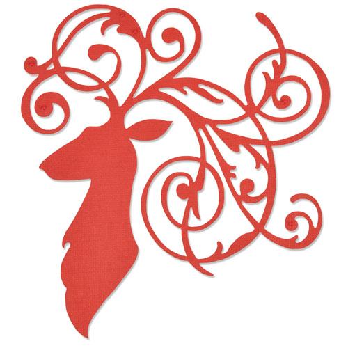 Sizzix Thinlits - Elegant Deer