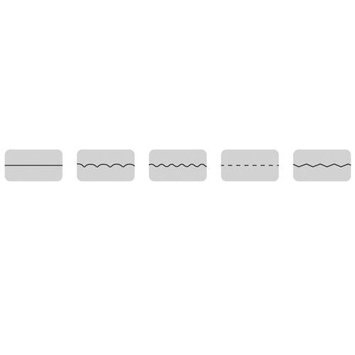 Set 5 cortadores rotatorios A