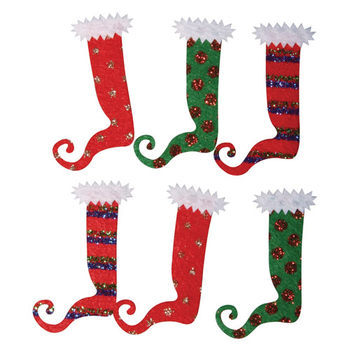 Deco stickers Calcetines duendes