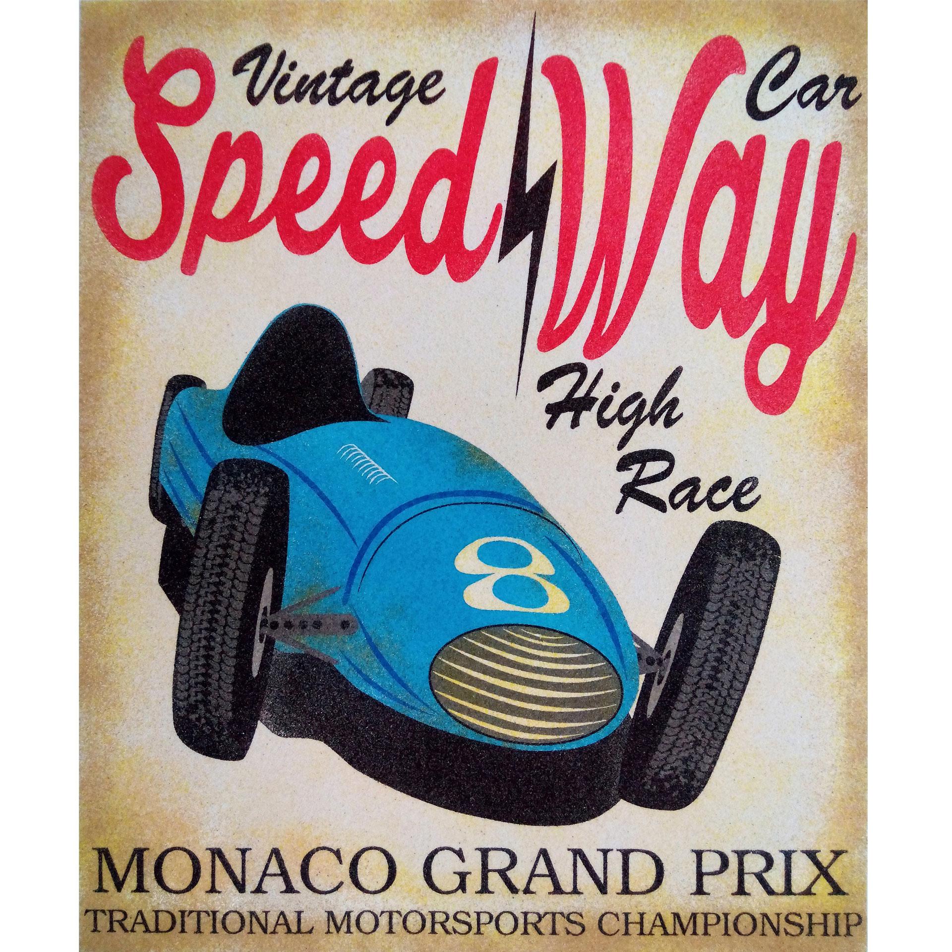 Monaco Grand Prix. 2 medidas disponibles