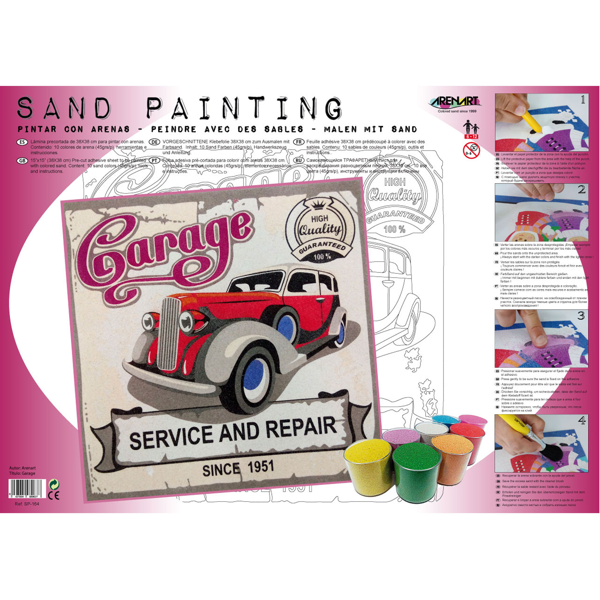 Sand Painting Garage Since 1951