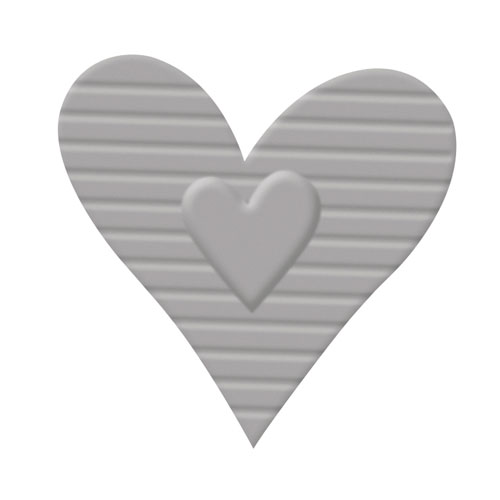 Perforadora y emboss: Corazon 2,7x2,9 cm