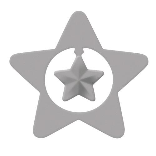 Perforadora y emboss: Estrella ø 4,4cm
