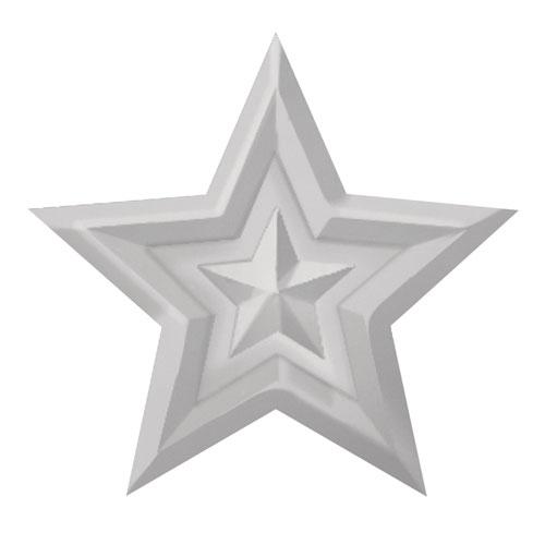 Perforadora y emboss: Estrella ø 3cm