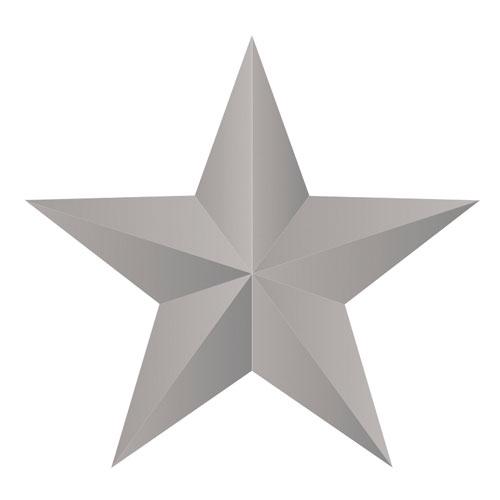 Perforadora y emboss: Estrella 3D ø 5 cm