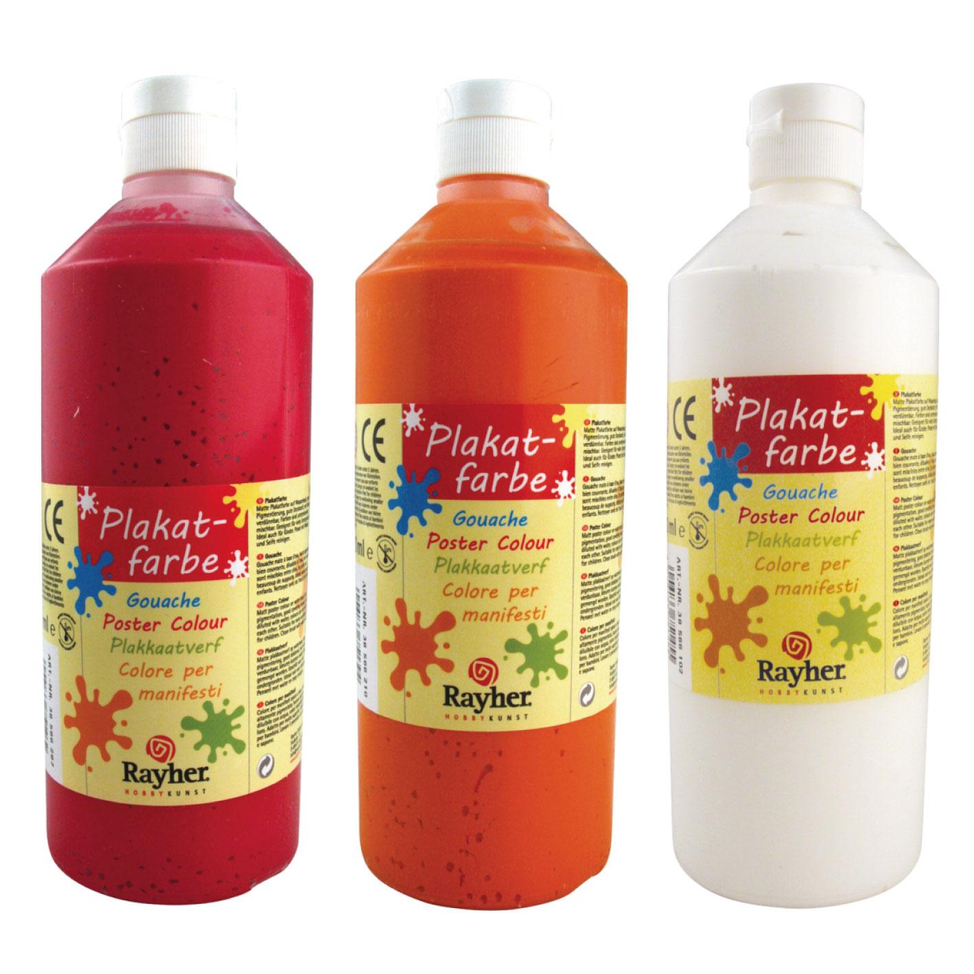 Acrilica para niños 500 ml. 12 colores