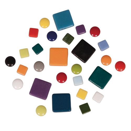 Teselas Fancy Glass tonalidades 1 y 2 cm 395 ut.