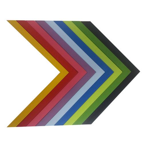 Marco con trasera 30x30 cm. 13 colores diferentes