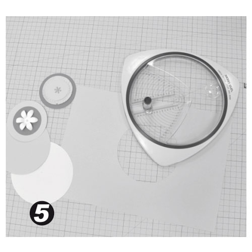 Cortador de Círculos de 2,4 a 15,3 cm y esquinera