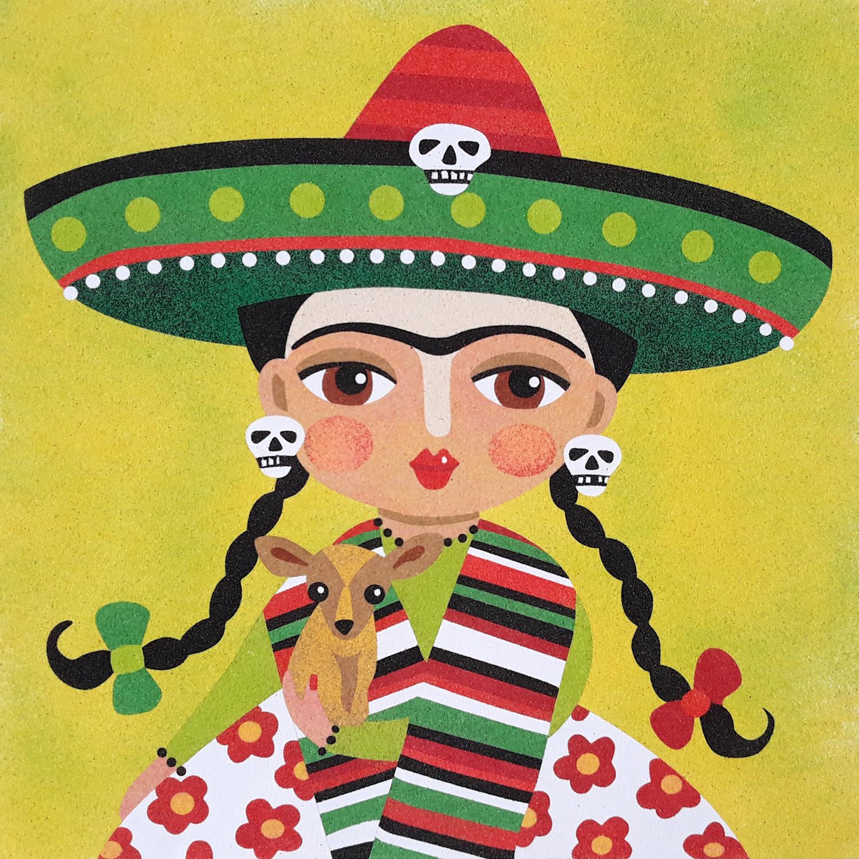 Frida Kahlo 3. 2 medidas disponibles