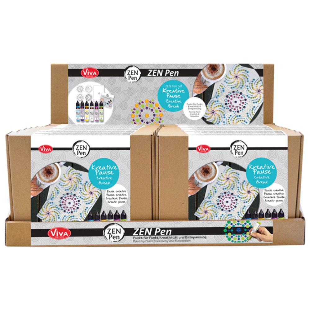 Expositor 16 Kits Zen Pen Viva Decor