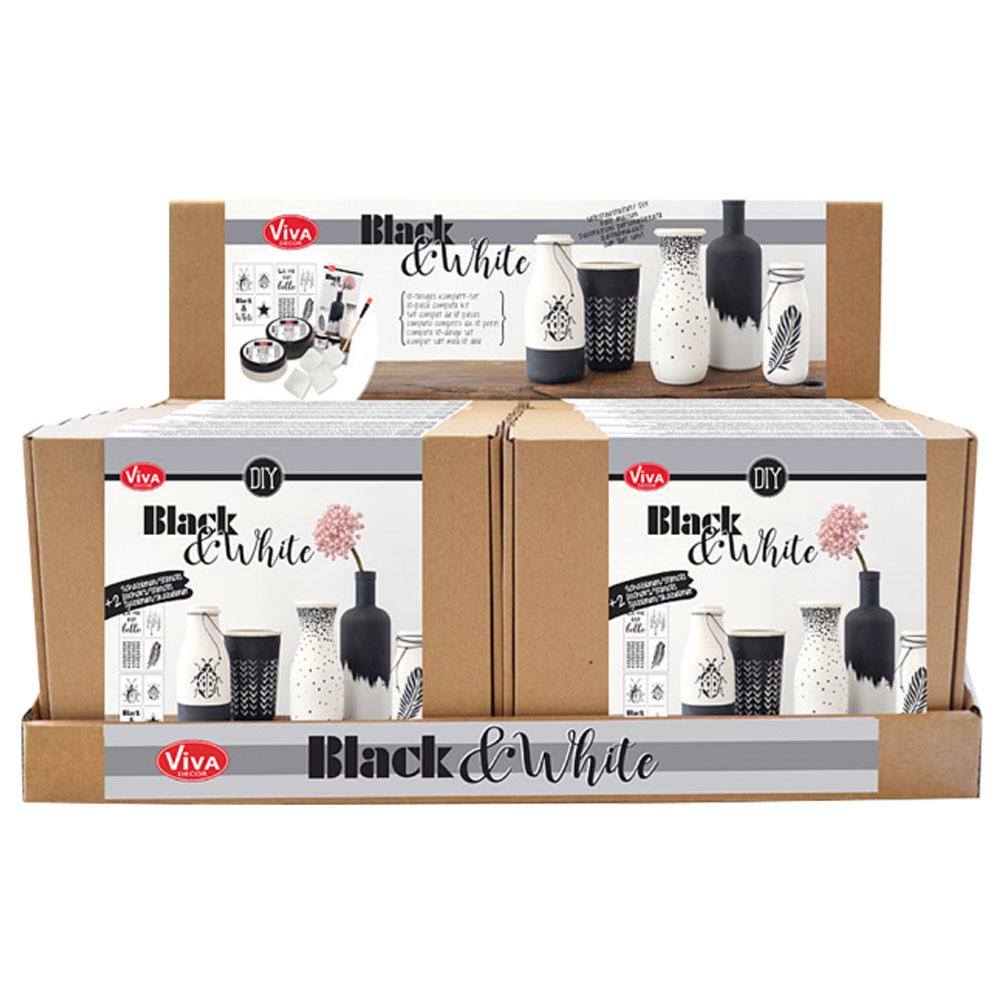Expositor 16 kits Black & White de Viva Decor