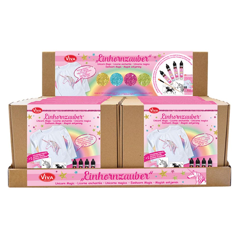 Expositor 16 Kits Unicornio Magic