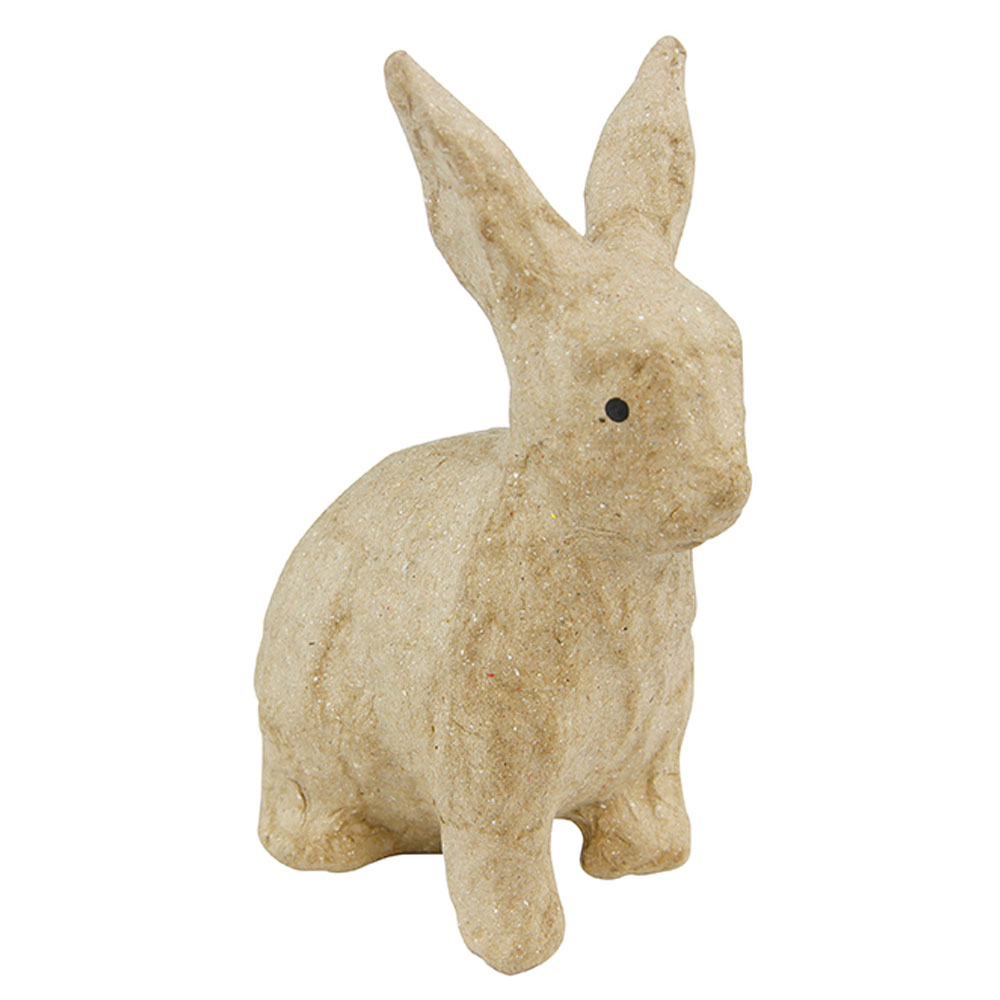 Conejo sentado 7,5x4,5x10,5 cm