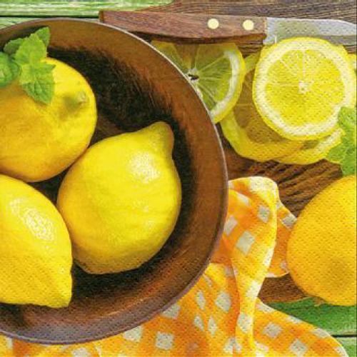 20 Servilletas. Limones