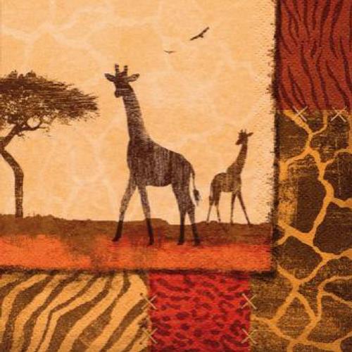20 Servilletas. Girafas