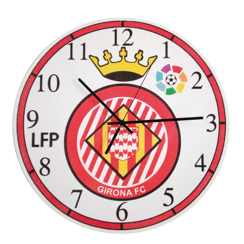 Set Pinta Reloj Pared con arenas. F.C.Girona
