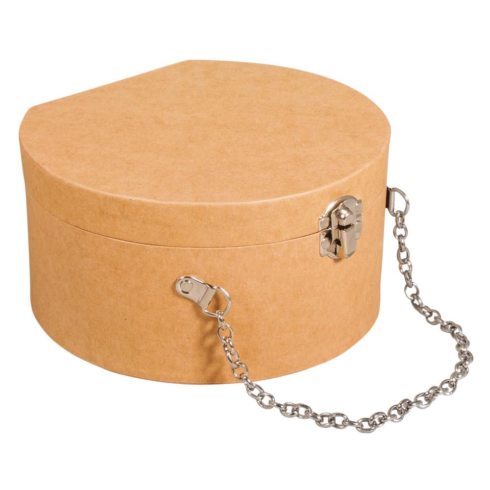 Bolso cadena metal 12,5x11,7x7cm
