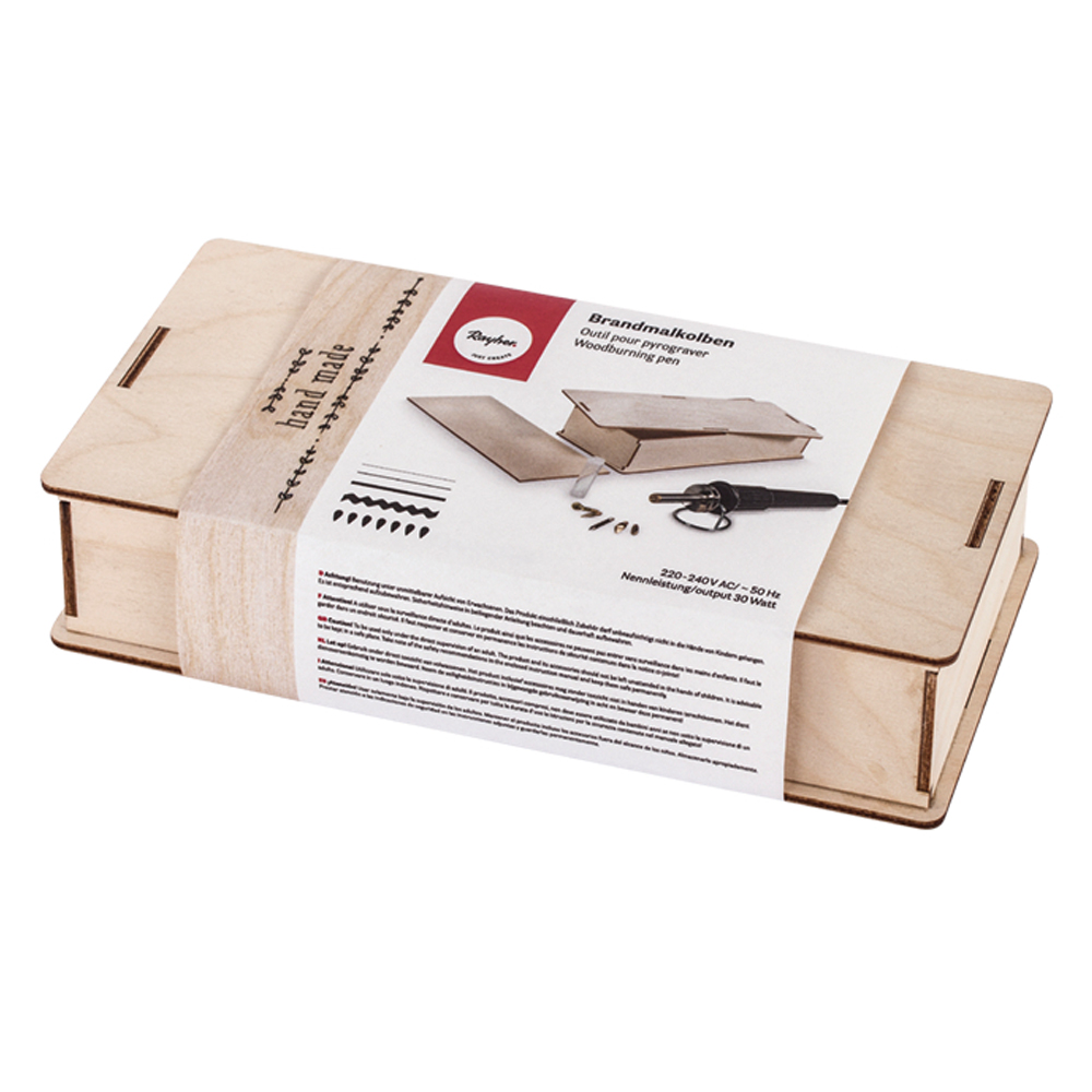 Pirograbador Caja Madera