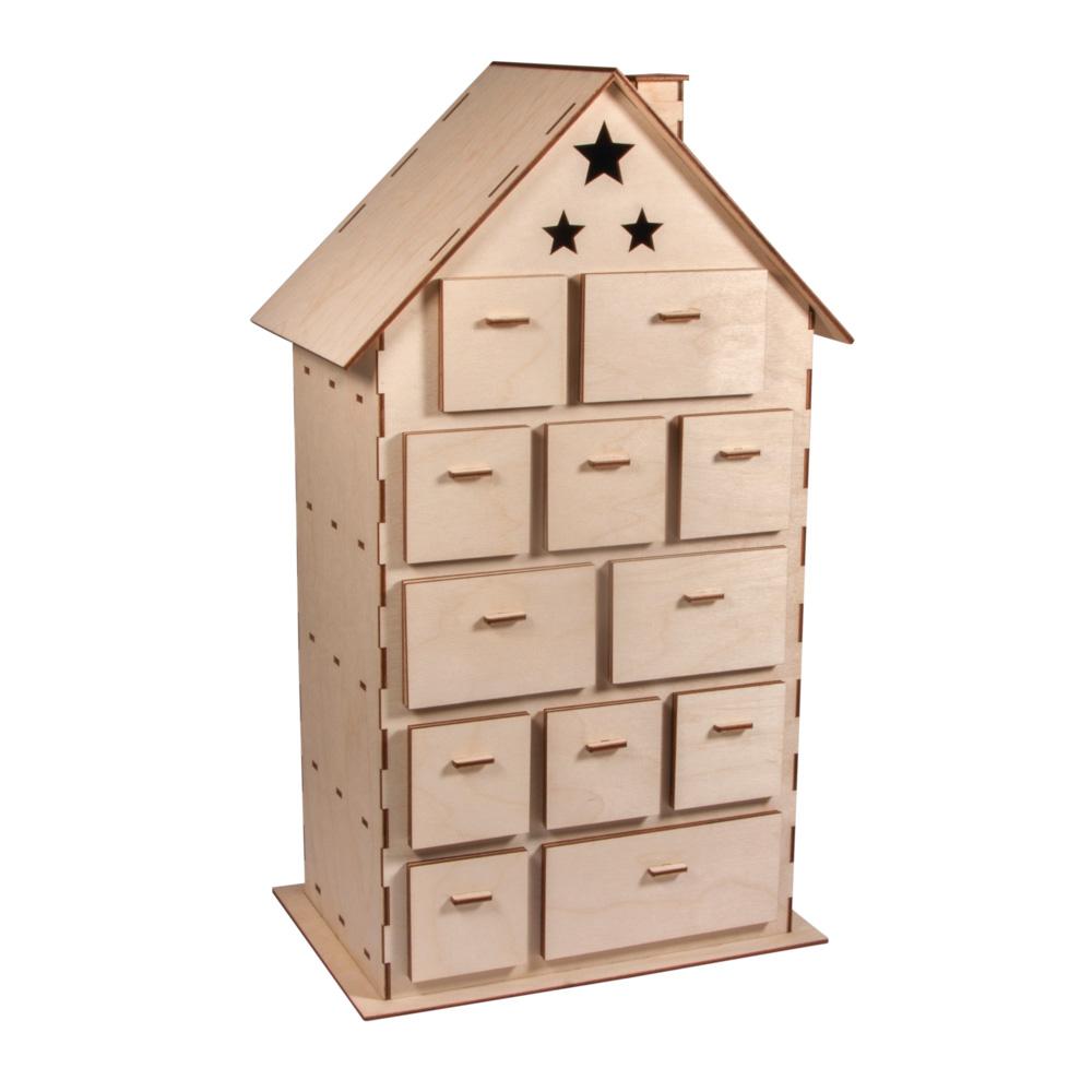 Calendario casa 25,5x17,5x45,5 cm