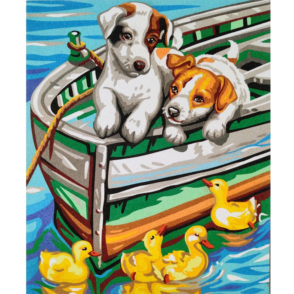 Perritos barco. 2 medidas disponibles