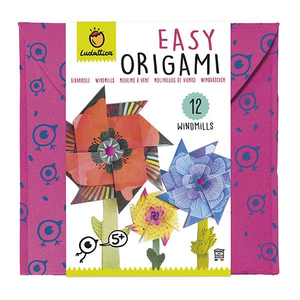 Origami molinillo de viento
