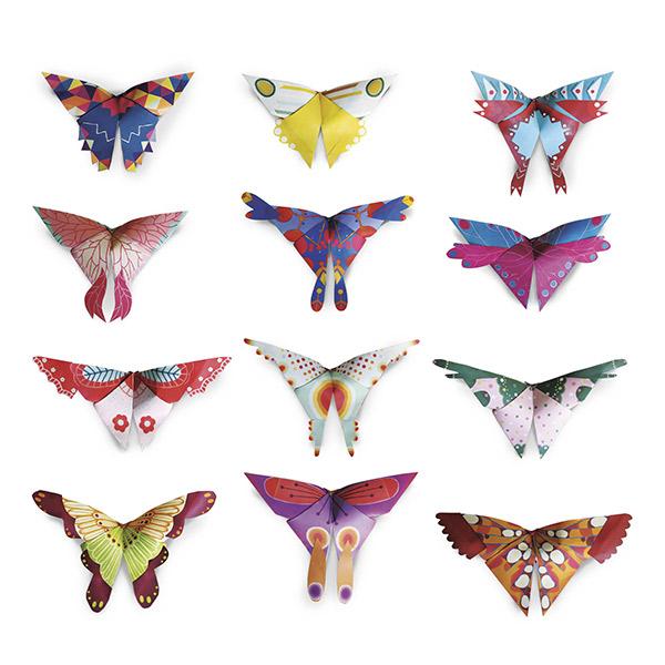 Origami fácil mariposas