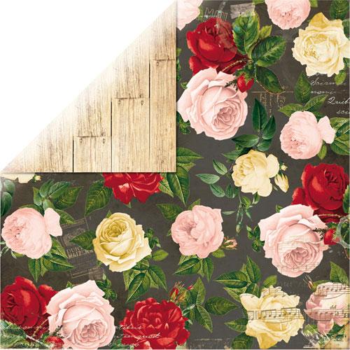 Papel doble cara 30,5 x 30,5 cm. Juliet